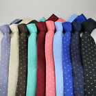 Coachella Ties Polka Dot Contrast Knot Tie Formal Necktie -10 Colours For Choose