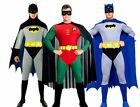 Official Adult BATMAN or ROBIN Fancy Dress Costume Outfit Book Wk Gotham Mens