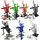 For HONDA CBR600RR ABS 09-15 14 13 12 CNC Racing Footpegs Rearsets Rear set