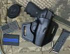 Leather Holster for Sig Sauer P239 OWB Forward Cant 9mm & .40, Made in USA