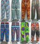 Men's Women's Baggy Harem Pants Trousers Aladdin Hippie Ali Baba Yoga Festival