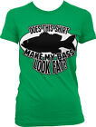 Does this Shirt Make my Bass Look Fat? Fishing Funny Juniors T-shirt