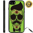 Custom Case for iPhone 6S 7 Plus+Samsung Galaxy S6 S7+STYLUS-Hipster Skull