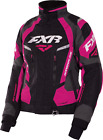 Adrenaline Women's Size 8 Black/Fuchsia FXR Snowmobile Jacket 170210-1090-08
