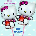 SELECTIONS Hello Kitty Foil Balloons Decor SF Shower Birthday Party Supplies lot