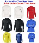 Compression Armour Baselayer Top Thermal Skins Shirt