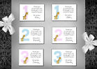 1st, 2nd, 3rd Birthday thank you cards x 10 Girl or Boy (7A - 7F) Postcards