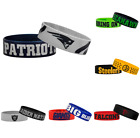 NFL Football Team Bulk Bandz Bracelets Wristband 2-Pack - Pick Team