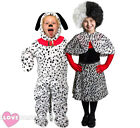 CHILDS DALMATIAN CHARACTER COSTUME SCHOOL BOOK WEEK FANCY DRESS BOYS GIRLS