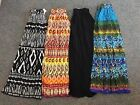 NWT Chaudry Women's Long Length Pull-On Maxi Skirt Boho Peasant Gypsy XS S M