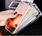 Luxury Ultra Thin Gel Jelly Mirror Case for Apple iPhone 5/5S 6/6S 7 7 Plus
