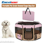 Pet Puppy Cage Dog Cat Playpen Soft Fabric Enclosure Fence Tent House M Foldable