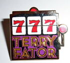 NEW Terry Fator Pin From Las Vegas Slot Machine 777