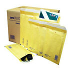 STRONG BUBBLE PADDED ENVELOPES MAILERS GOLD WHITE MAIL POSTAL BAGS