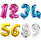 """Self Inflating Happy Birthday Party Banner Balloon Bunting Gold 16"""" Letter Foil"""