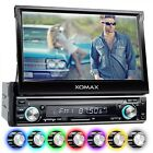 AUTORADIO MIT 18cm HD TOUCHSCREEN VIDEO BILDSCHIRM BLUETOOTH USB SD MP3 AUX 1DIN