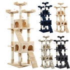 """Hot 67"""" Cat Tree Tower Condo Furniture Scratching Post Pet Kitty Play House US"""