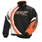 Arctic Cat Men's Black/White/Orange SnoPro Limited Snowmobile Jacket, 5250-49_