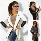 New Hot Women Casual Jacket Blazer Knitwear Cardigan OPEN Coat Long Tops Outwear