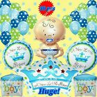 SELECTIONS BABY BOY GIRL SHOWER Foil Balloons Decor Birthday Party Supply lot Q