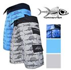 "Внешний вид - Tormenter Mens ""Surf"" Lightweight Microfiber SPF35 Board Short with Cargo Pocket"