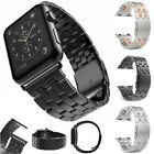 2017 Wide Fashion Stainless Steel Bracelet Watch Band Strap for Apple Watch 42mm