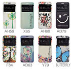 "For LG G5 Dual H850 (5.3"") Wallet PU Leather Stand Flip View Window Case Cover"