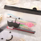 Cute Student Pencil Pen Case Cosmetic Pouch Pocket Brush Holder Makeup Bag Nice