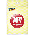 Christmas Joy Red Personalized Kitchen Refrigerator Locker Button Magnet