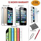 Apple iPhone 5-5C-5S / 8-16-32-64GB -All Colours - Unlocked