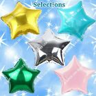 "18"" STARS Foil Balloons Championship Anniversary Shower B-day Party Supplies lot"