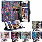 For LG Phones Wallet Case Leather Card Wallet X Power Style Tribute HD Cover
