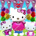 SELECTIONS Hello Kitty Foil Balloons Decor Shower Birthday Party Supplies lot HA