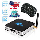 USA Anewish 2G 32G AE256 Android 6.0 TV Box S912 Octa Core KD 17.0& Keyboard