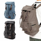 Mens Retro Backpack Rucksack School Bag Laptop Travel Camping
