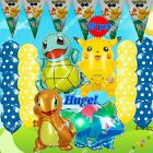 USA Pokemon Balloons Pikachu & Friends Game Decor Birthday Party Supplies lot L