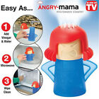 Funny Angry Mom Kitchen Cleaning Microwave Oven Cleaner Sterilizer Home Supplies