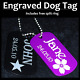 Aluminium Army military ID Dog Tag With FREE Engraving and postage