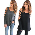 NEW Women's Loose Long Sleeve O-Neck Casual Blouse Shirt Tops Fashion Blouse