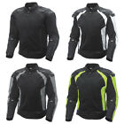 Men's Adult FLY Cool Pro Street Motorcycle Jacket Riding Coat Mesh/Nylon w/Armor