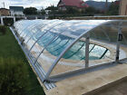 Retractable Swimming Pool Enclosure Pool Cover Polycarbonate 3mm Clear PC