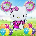 SELECTIONS Hello Kitty Foil Balloons Decor HB Shower Birthday Party Supplies lot