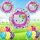 SELECTIONS Hello Kitty Foil Balloons Decor HM Shower Birthday Party Supplies lot