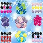 Ladybug Polka Dots Latex Balloons Minnie Accent Shower Birthday Party Supplies b