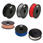 1.75mm/3mm 3D Printer Filament 1kg/2.2lbs ABS/PLA/HIPS for MakerBot RepRap Hot