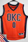 NBA Oklahoma City Thunder Russell Westbrook Orange OKC Swingman Men Jersey