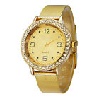 Fashion Women Lady Luxury Stainless Steel Band Bling Analog Quartz Wrist Watch 6