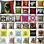 Star Wars/Super hero/Game of Thrones Pillow Case Cushion Cover Home Sofa Car Dec $3.72 CAD