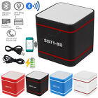 Portable Wireless Bluetooth 3.0 Hands-Free Mini Speakers For iPhone Smartphone