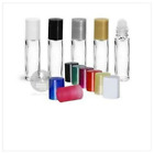 SWIRL ROLL ON BOTTLE ROLLETTE BOTTLE ROLLER BALL BOTTLE ROLL BOTTLE GLASS 10ML*